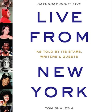 live from new york live from new york abridged audiobook by tom