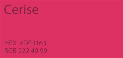 color cerise 24 shades of pink color palette graf1x