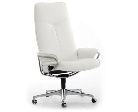 stressless office chair stressless 174 city high back office chair ippolitos furniture