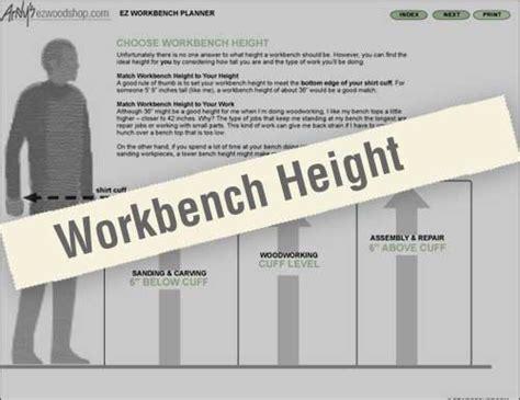 Garage Workbench Design ez workbench planner closer look