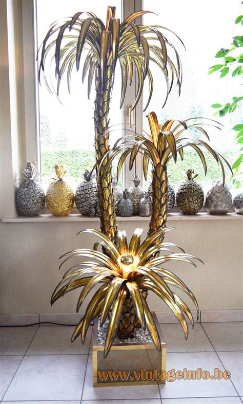 palm tree floor light maison jansen palm tree floor l vintage info all