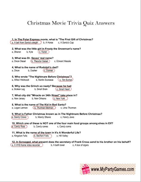 christmas film quiz online christmas movie trivia quiz answer sheet png 612 215 792