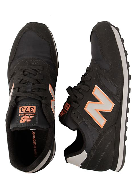 New Balance Black And Orance new balance m373 black orange shoes impericon