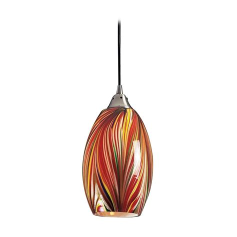 Pendant Lighting Colored Glass Modern Mini Pendant Light With Multi Color Glass 517 1m Destination Lighting
