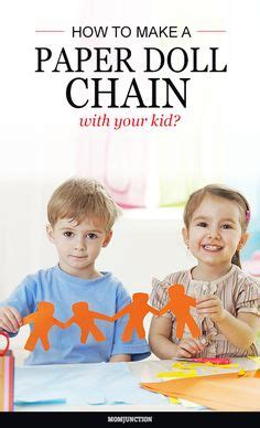 How To Make A Paper Doll Chain - 1000 images about ideas on toddlers