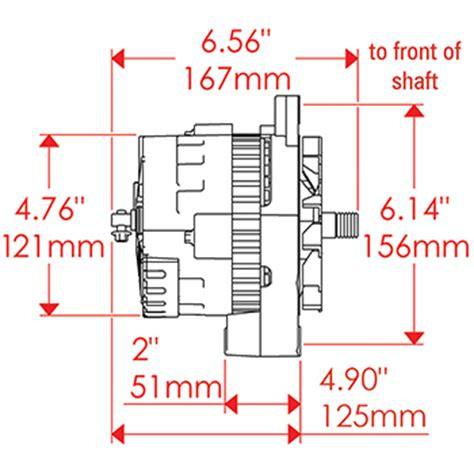 100 powermaster one wire alternator diagram two