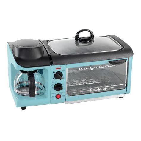 Oven Oxone 4 In 1 nostalgia retro blue breakfast center toaster oven bset300blue the home depot