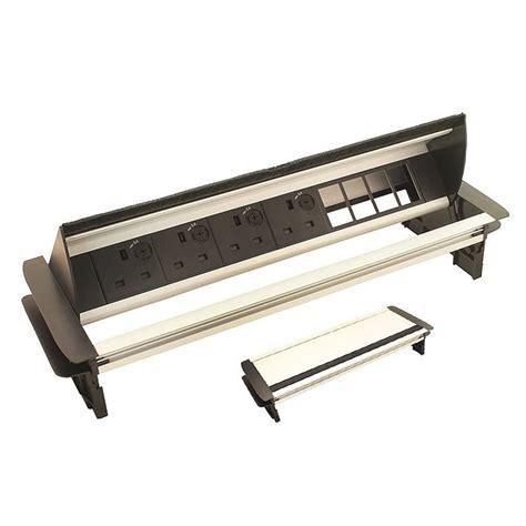horizontal in desk power dock