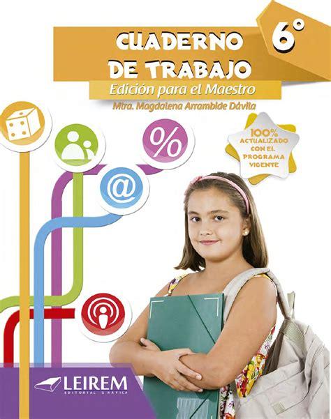 matem 225 ticas 6 cuaderno de trabajo 183 primaria santillana matematicas cuaderno de trabajo 6to grado by sbasica issuu