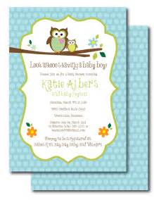 baby shower invitations owl theme theruntime