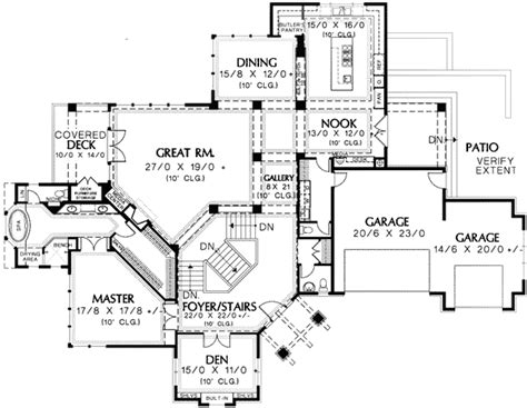 hillside floor plans hillside home plans house plan 2017