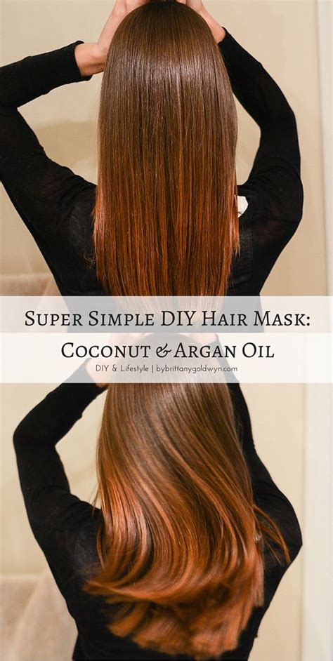 Detox Hair Mask Diy by Make An Easy Coconut And Argan Hair Mask To