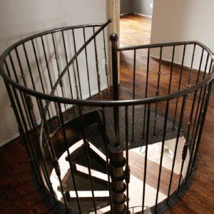 paris french cast iron spiral stairs