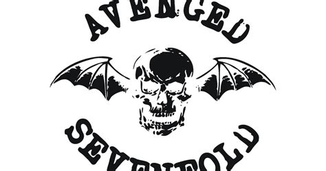 Kaos Avenged Sevenfold Logo 02 avenged sevenfold logo vector format cdr ai eps svg