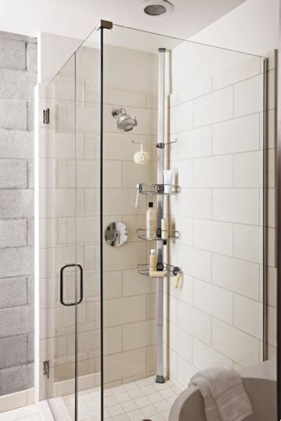 bathroom bliss by rotator rod the micro apartment modern 5 steps to make your small shower look bigger without