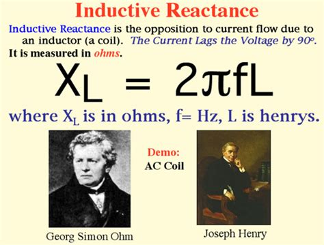 ac reactance in an inductor has the same units as dc ac circuits