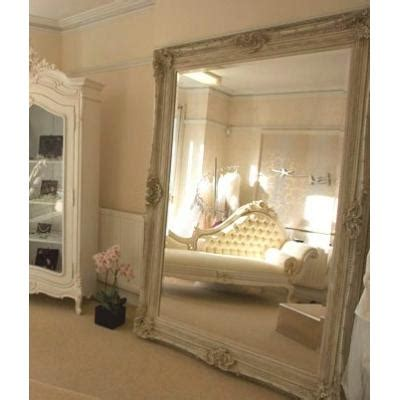4ft X 3ft Frameless Mirror by 7ft Ivory Rococo Mirror Ayers Graces