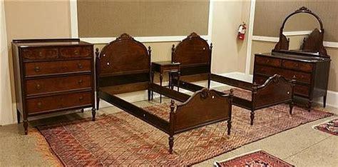 berkey and bedroom set 5 piece 1920 s berkey gay mahogany bedroom suite including