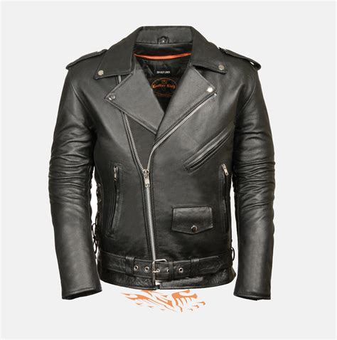 cheap leather motorcycle jackets police terminator leather jacket w side laces bikers