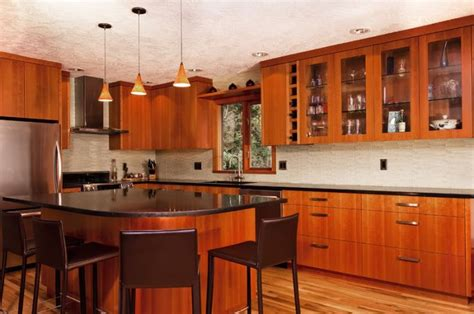 cherry kitchen backsplash modern new york by glass clear glass backsplash with texture cherry kitchen