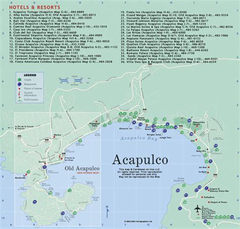 map of mexico acapulco atlas mexico map acapulco