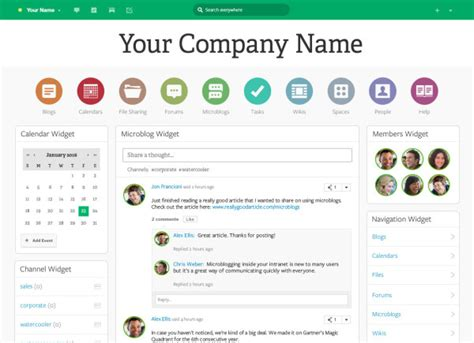 Office Layout Software Online Free 6 sharepoint alternatives to put on your shortlist