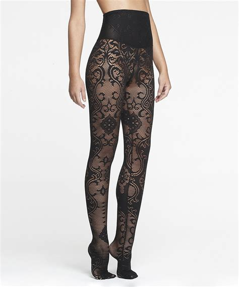 Shaper Tights black lace shaper tights clothing and stuff
