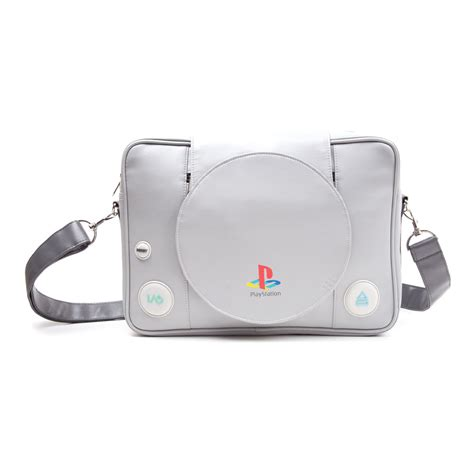 playstation one console new sony playstation one console messenger bag grey