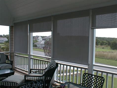 Sun Screens For Porches Solar Shades Shade And Shutter Systems Inc Ct Ma Nh Ny