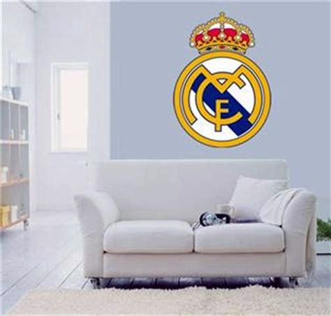 soccer home decor new real madrid fc football club wall sticker bedroom