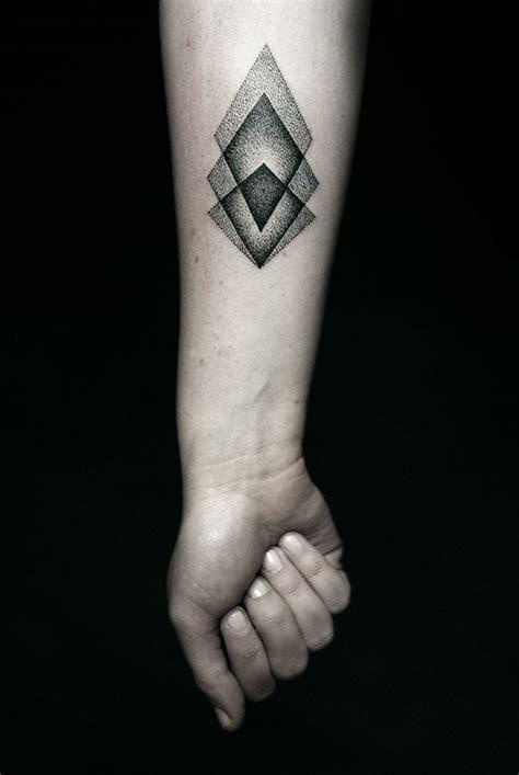 rhombus pattern tattoo geometric tattoo by kamil czapiga best tattoo design ideas