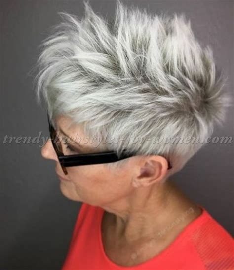 hairstyles grey hair funky short hairstyles over 50 short hairstyle for grey hair