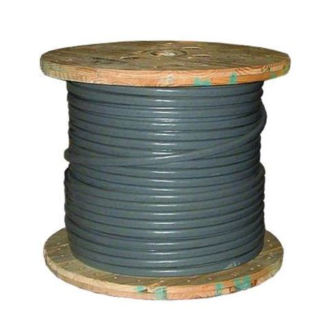 southwire 500 ft 2 2 2 4 gray stranded cu ser cable