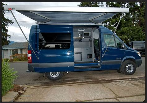 awnings outside vans sprinter cer ideas pinterest