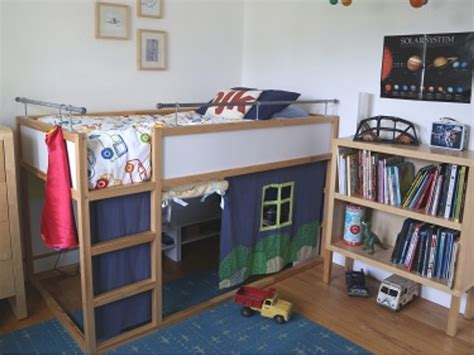 diy ikea loft bed 31 ikea bunk bed hacks that will make your kids want to share a room