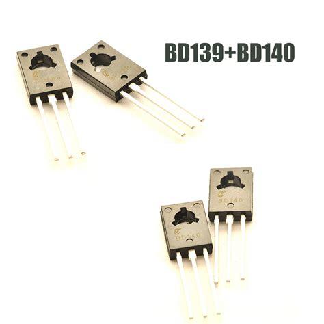 transistor bd 140 dan bd 139 10pcs lot bd139 bd140 each 5pcs transistor to 126 npn pnp 80v 1 5a to126 silicon triode