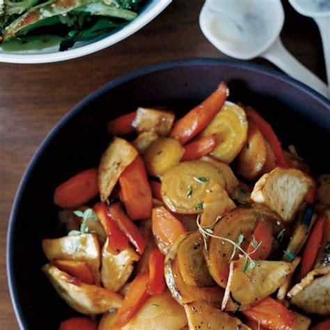 roasted root vegetables thanksgiving honey glazed roasted root vegetables recipe