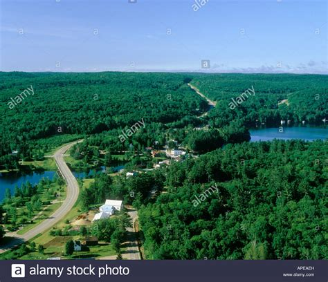of dorset in muskoka cottage country in ontario