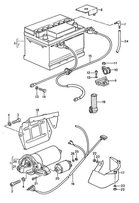 99965900650 - Porsche Starter protection cap generator