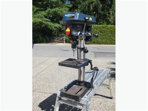 bench drill press for sale mastercraft 10 quot bench drill press for sale central saanich victoria