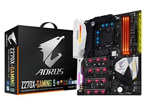 gigabyte aorus ga z270x gaming 9 gaming motherboard lga1151 intel z270 4 way sli atx ddr4