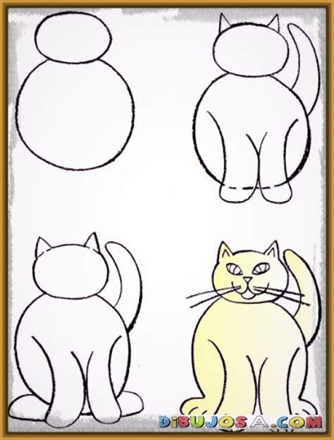 imagenes faciles para dibujar de gatos 191 quieres aprender como dibujar a un gato facil dibujos