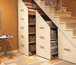 stairway storage simple ideas of how to save the living space ideas for