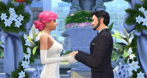 sims 4 wedding how to plan a wedding in the sims 4 sims online