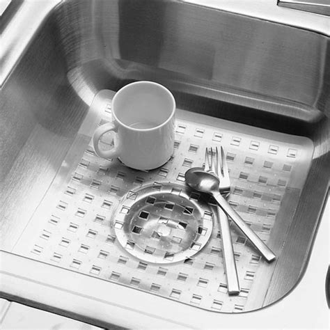 kitchen sink mat clear in sink mats