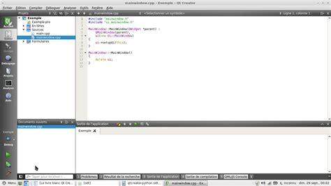 tutorial qt creator python configurer qt creator pour python