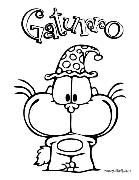 imagenes de cumpleaños para colorear e imprimir dibujos para colorear gaturro cumple es hellokids com