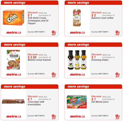 printable grocery coupons quebec metro quebec new printable grocery coupons canadian