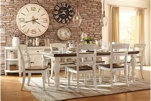 Ashley Furniture Kitchen Tables table two tone marsilona dining room table view 1 ashley furniture