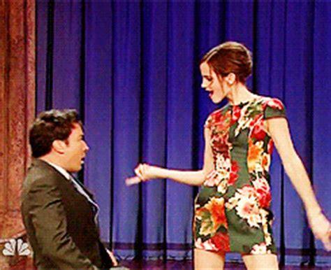 emma watson jimmy fallon dance meet the true emma watson